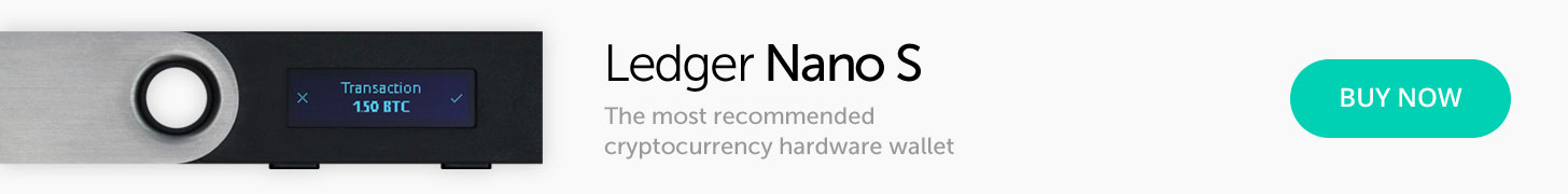 Ledger Nano S - The secure hardware wallet for IOTA Tokens